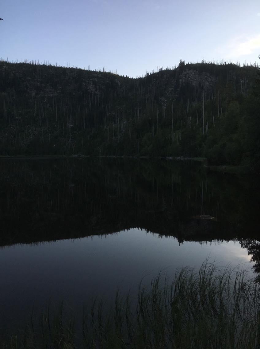 05 Celej den až do večera jsme šli soldiní kopce v solidním tempu abychom to stihli na Plechý a podařilo se!
