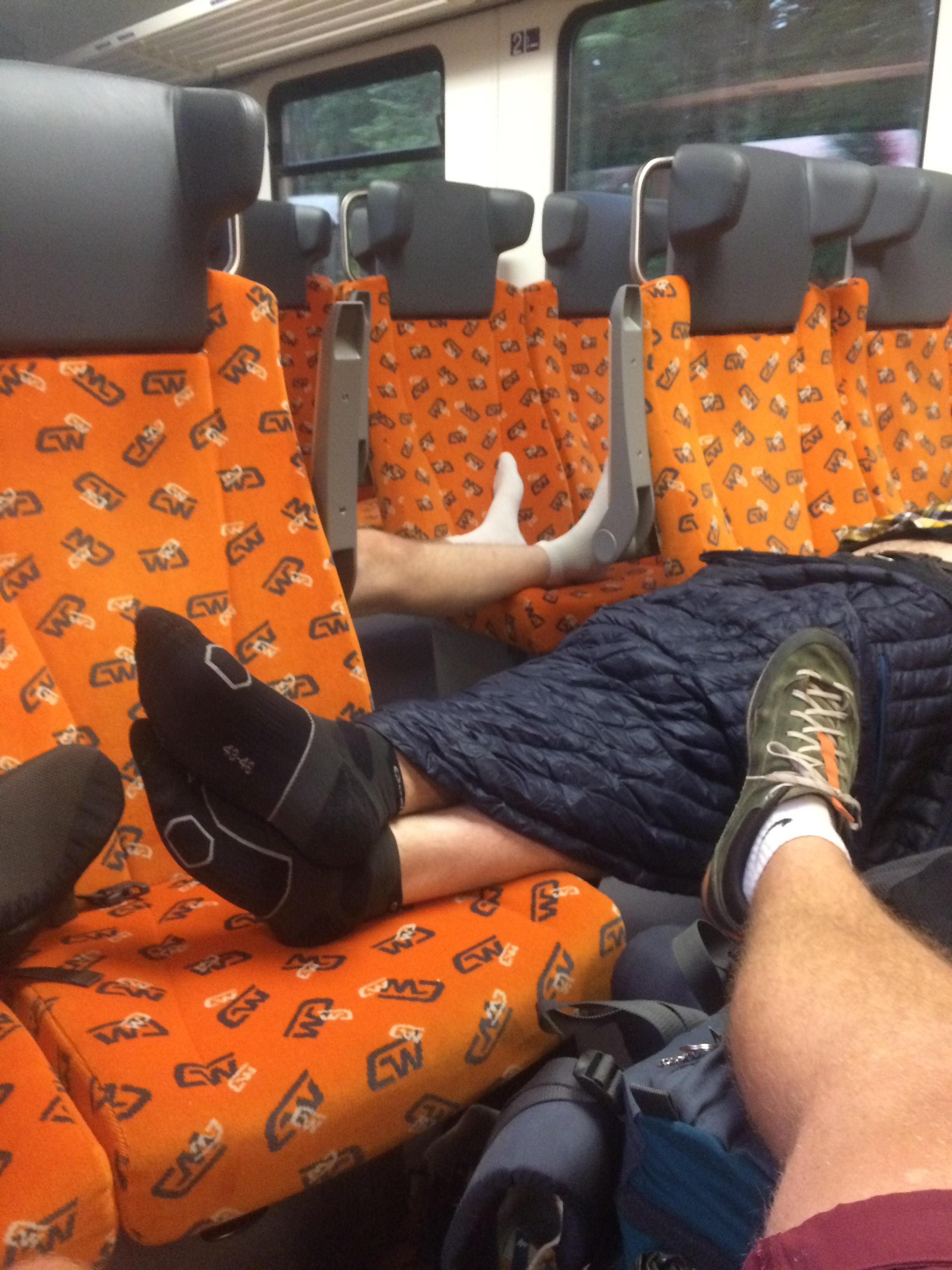 56 Okamžitá zalamovačka ve vlaku