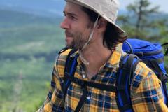 13 Vyhlídka nad jezerem kousek pod vrcholem Plechý